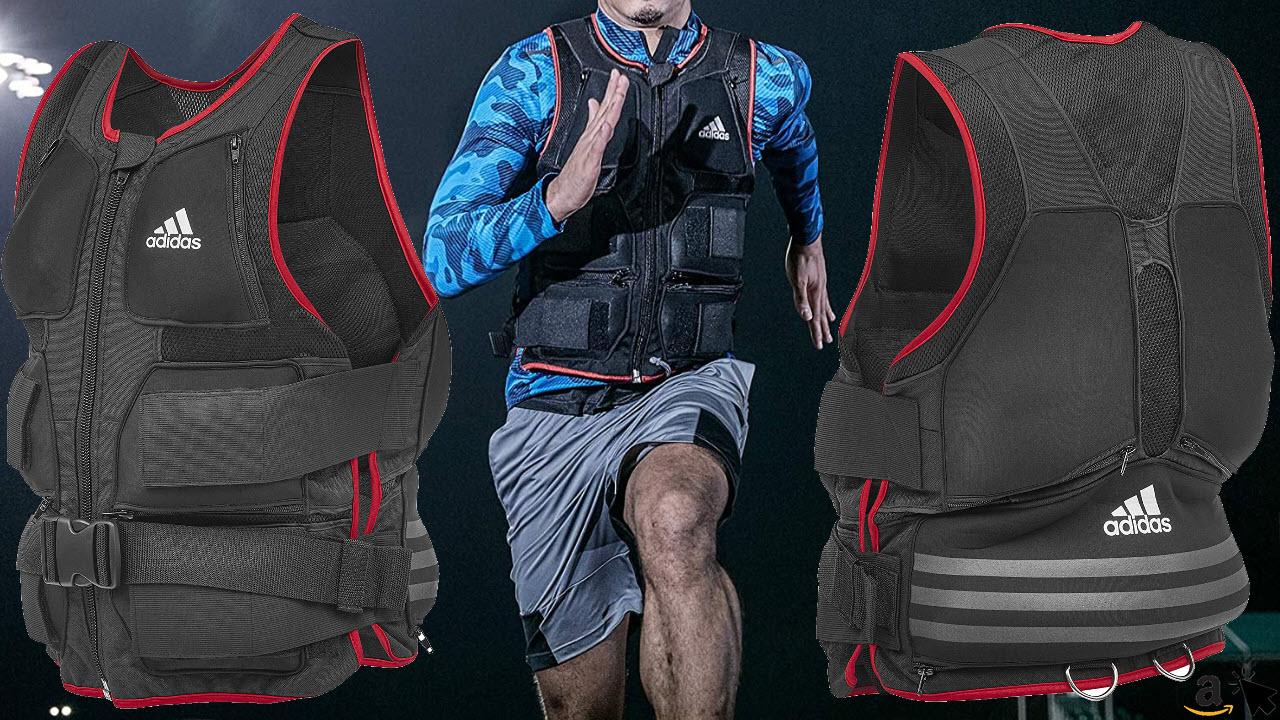 adidas Ganzkörper-Gewichtsweste Trainingsweste ergonomisch