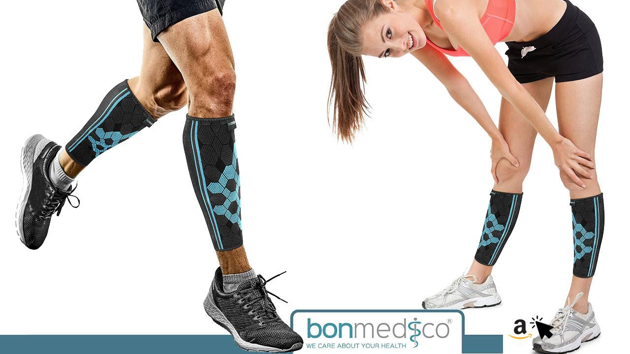 bonmedico Vido Kompressions-Wadenbandage zur Entlastung, Stabilisierung der Wade