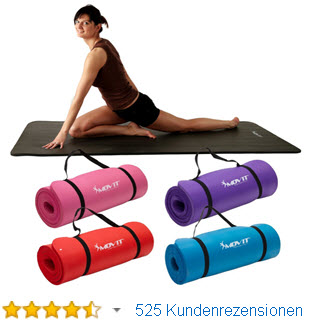 MOVIT Pilates Yogamatte Gymnastikmatte